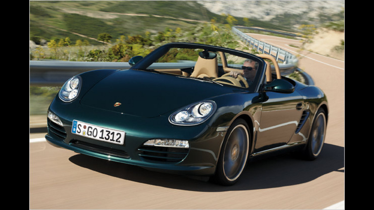 Laut GTÜ beispielhaft: Porsche Boxster