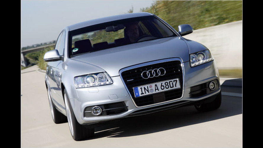 Audi A6 frisch gemacht: Feines Facelift für den Platzhirsch