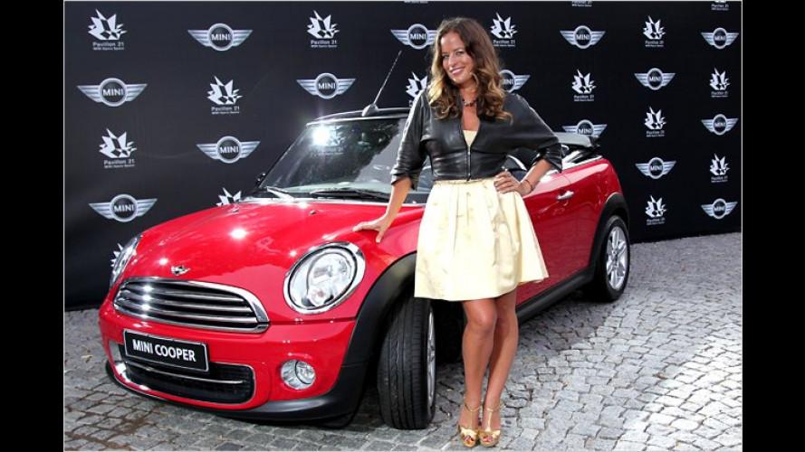 Mick Jaggers Tochter Jade nimmt im neuen Nobel-Mini Platz