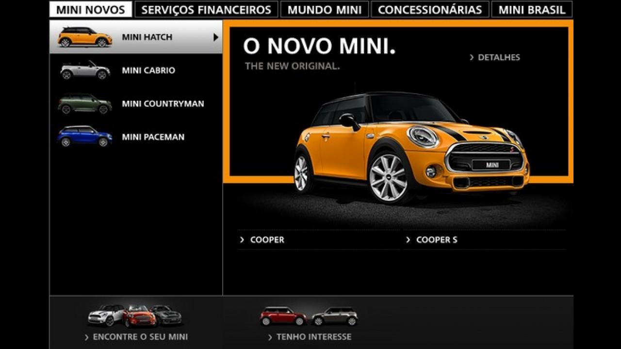 """MINI One custa R$ 79.950 no Brasil, mas é vendido a """"conta gotas"""""""