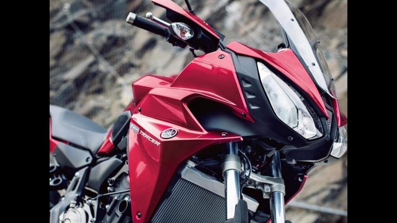 Yamaha apresenta a nova Tracer 700, derivada da MT-07