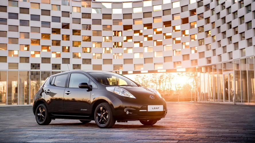 Nissan Leaf Black Edition - Une série limitée disponible durant seulement 6 mois