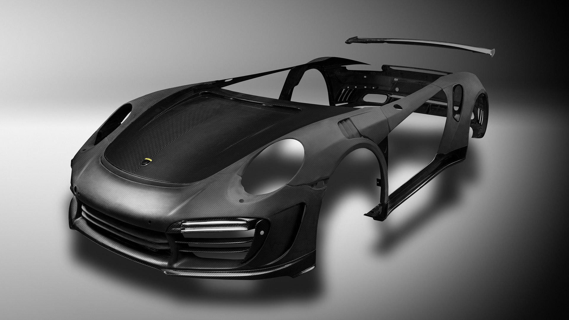 porsche-911-turbo-carbon-fiber Stunning Porsche 911 Gt2 Body Kit Cars Trend