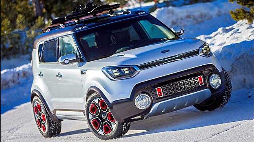 Kia Trail'ster e-AWD concept, ibrida e 4x4