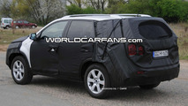 Kia Sorento Spied Inside & Out