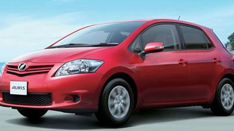 Toyota Auris treated to a Mild-Facelift