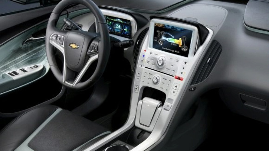 Production Chevy Volt's Interior Receives Cosmetic Changes