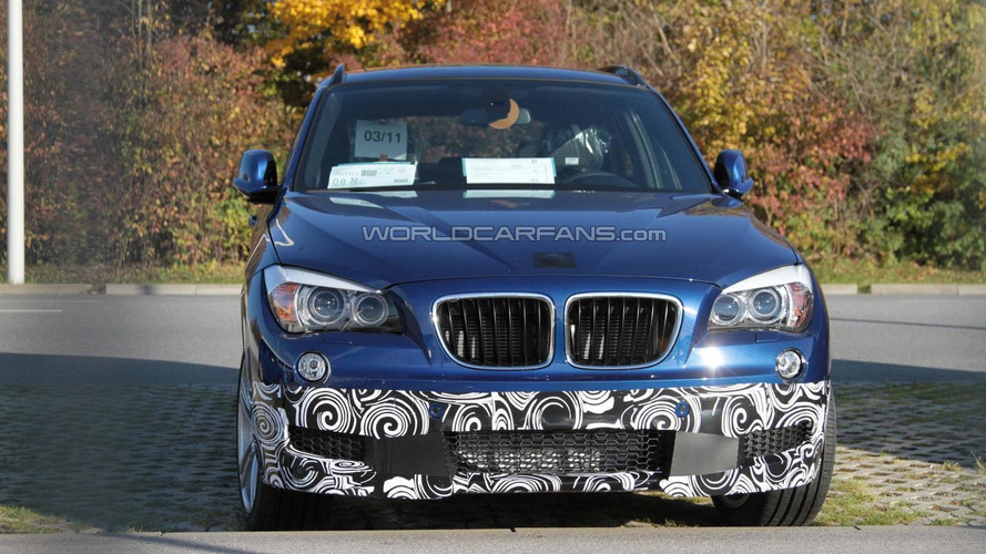 BMW X1 M Package spied