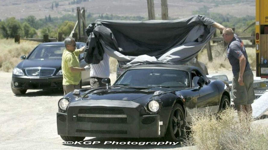 Mercedes SLC Test Mule Now Uncovered