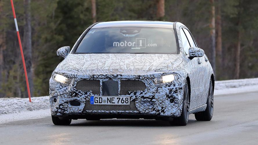 2018 Mercedes A-Class new spy photos