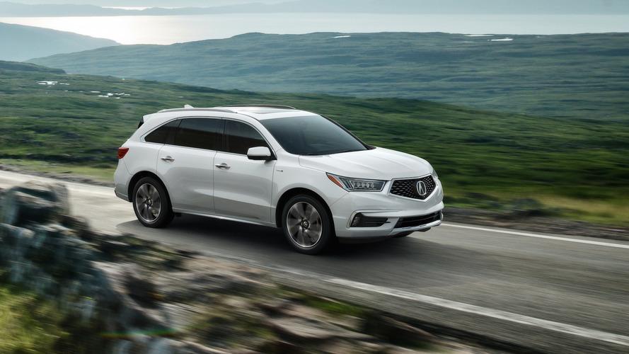 Acura MDX Sport Hybrid gets more power, better fuel economy
