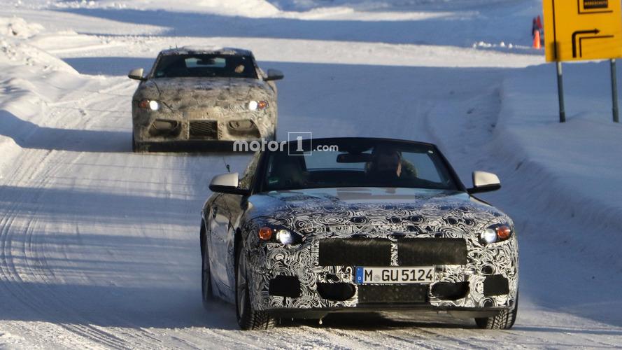 VIDÉO - La BMW Z5 surprise en plein test sur la neige