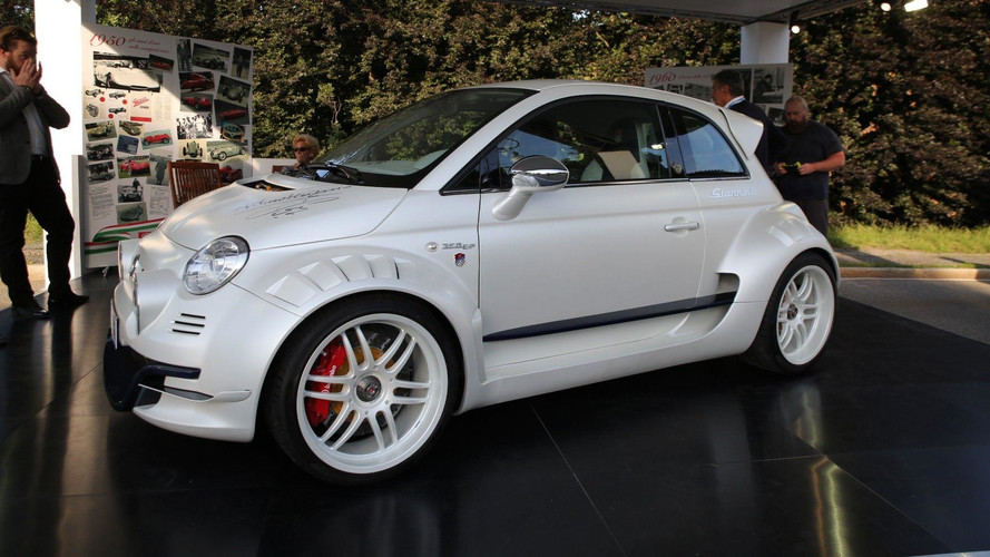 Fiat 500 Giannini Is Super City Car With 350-Hp from Alfa Romeo