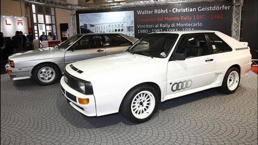 Auto e Moto d'Epoca, 30 anni di rally con Audi Quattro