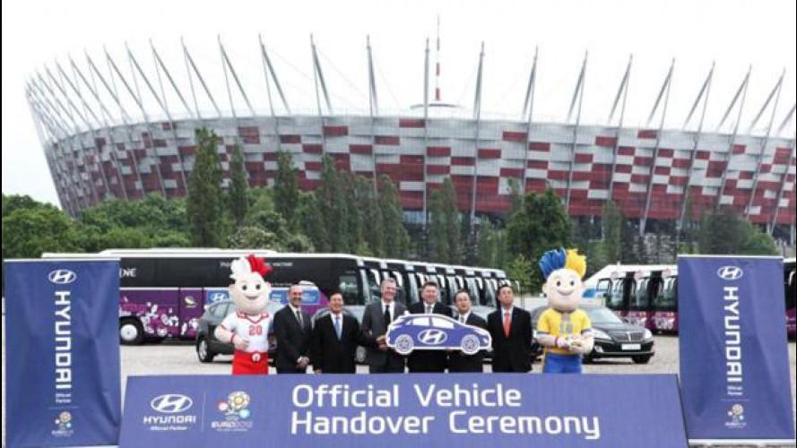 366 Hyundai sono scese in campo per UEFA EURO 2012