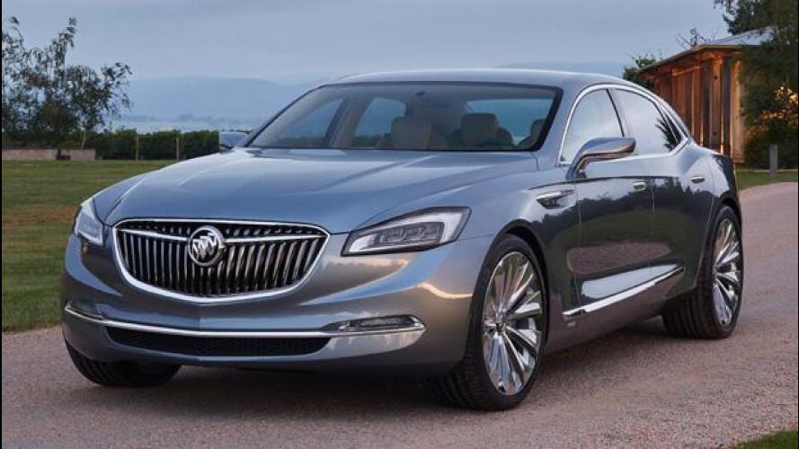 Buick Avenir concept, lo stile GM del futuro