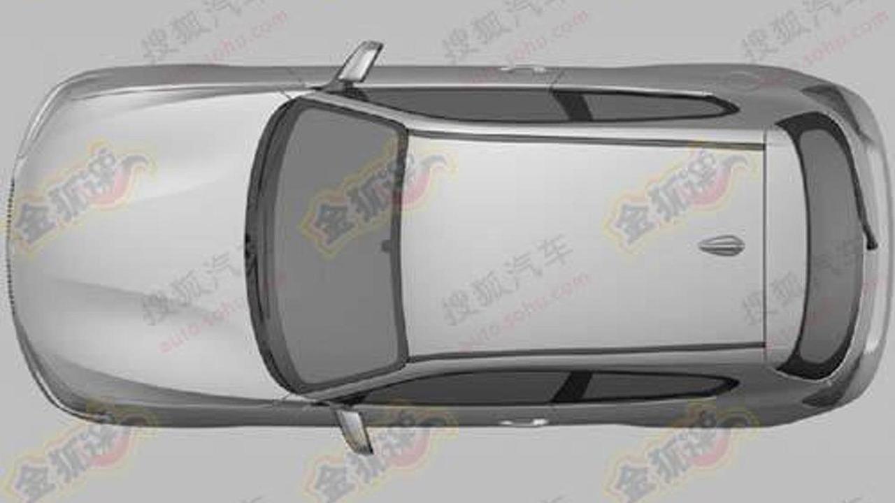 BMW 1 Series three-door hatchback leaked patent designs, 500, 28.12.2011