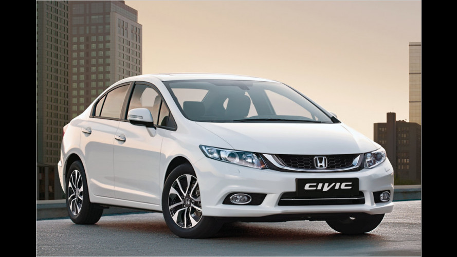 Honda Civic: Neu abgestuft