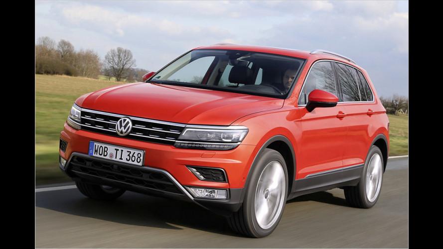 Zweite Generation des VW Tiguan als 2.0 TDI 4Motion DSG im Test