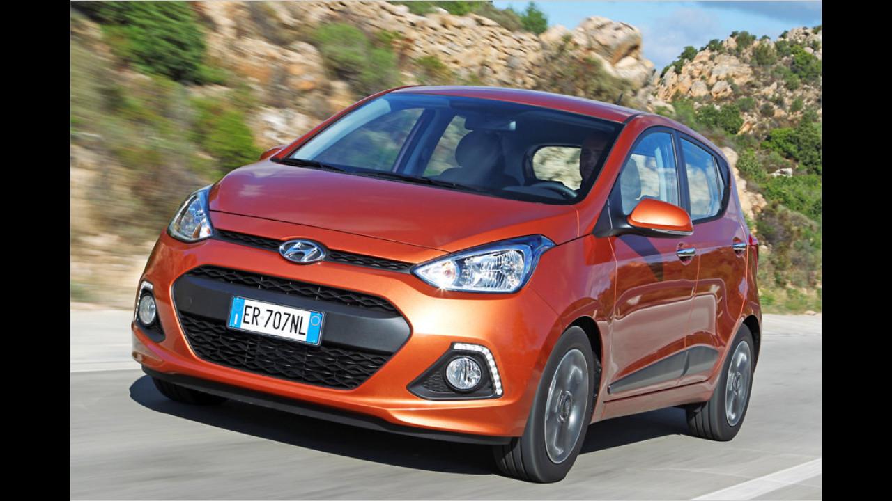 Kleinstwagen, Platz 2: Hyundai i10