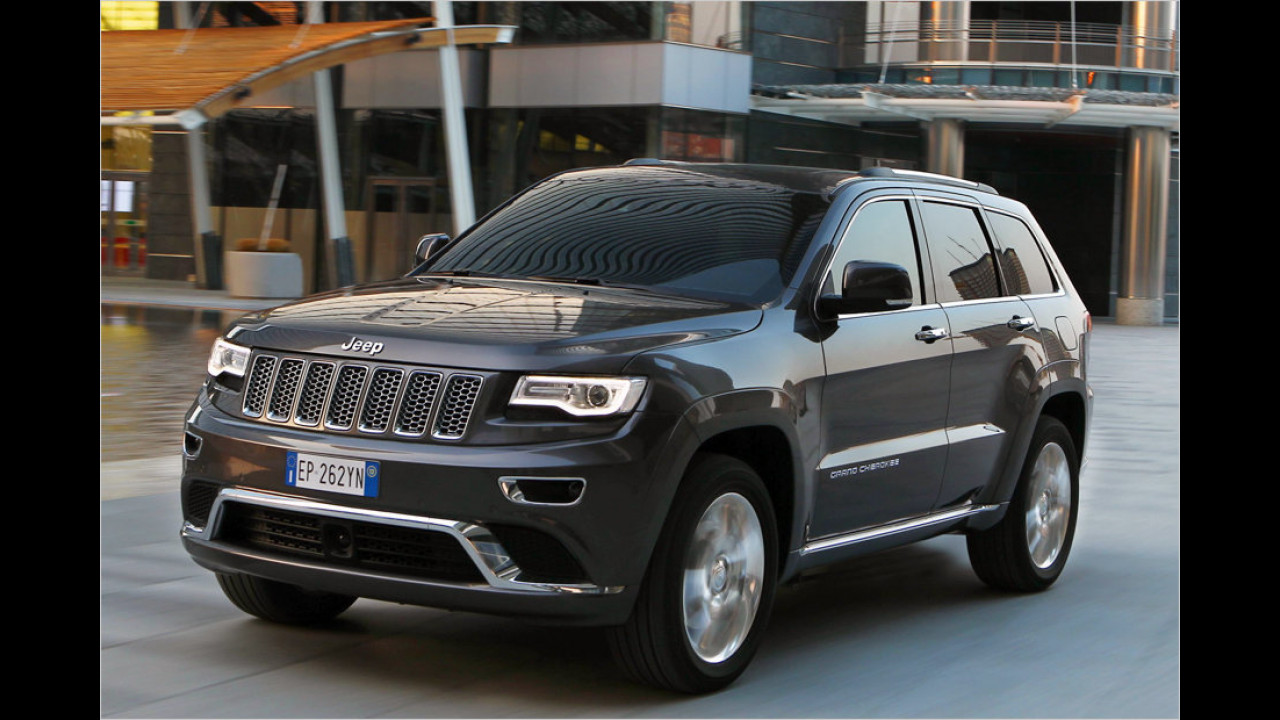 Jeep Grand Cherokee (WK2): seit 2010