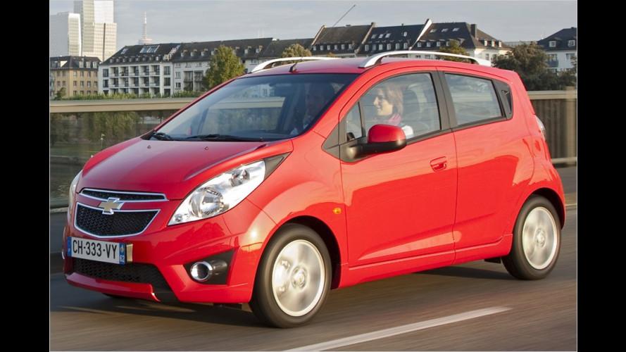 Neue Autogas-Modelle von Chevrolet
