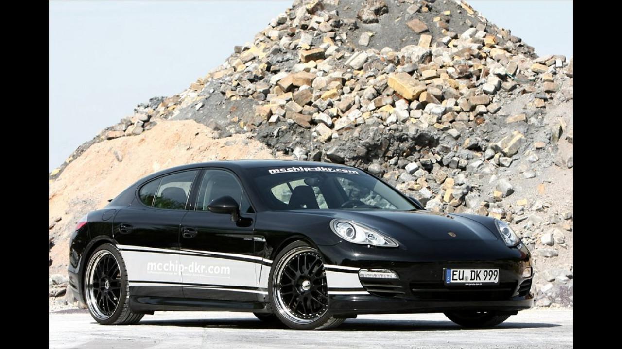 PS-Spritze: Porsche Panamera Diesel