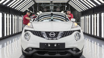 First-gen Nissan Juke production