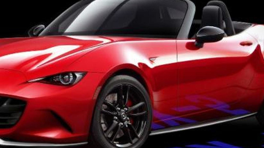 2015 Mazda MX-5 rendered by an employee, could hint at the production model