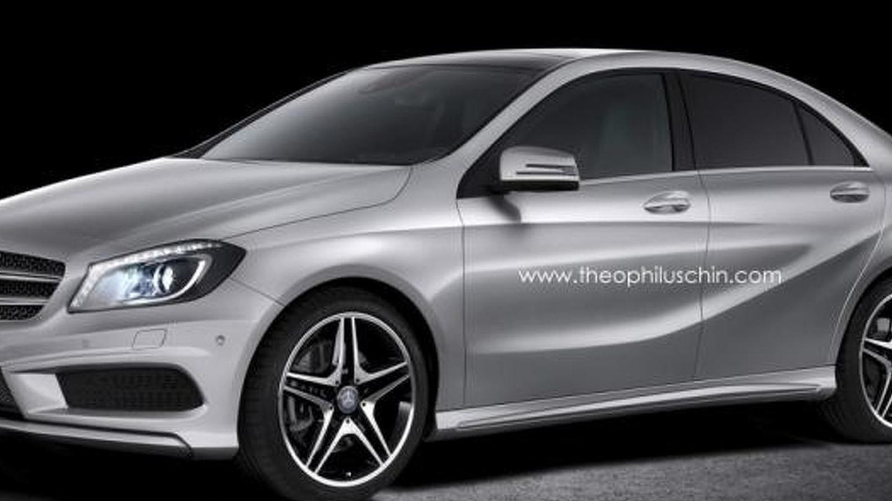 Mercedes-Benz A-Class Sedan render