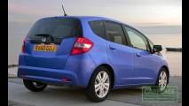 Honda Fit 2011 ganha retoque visual e retorno do câmbio CVT no Reino Unido