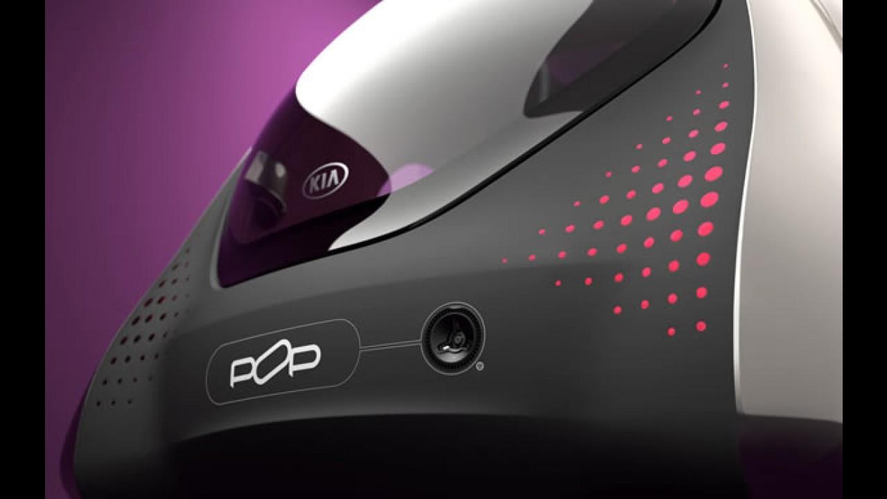 Kia Pop Concept - O compacto urbano elétrico estará em Paris
