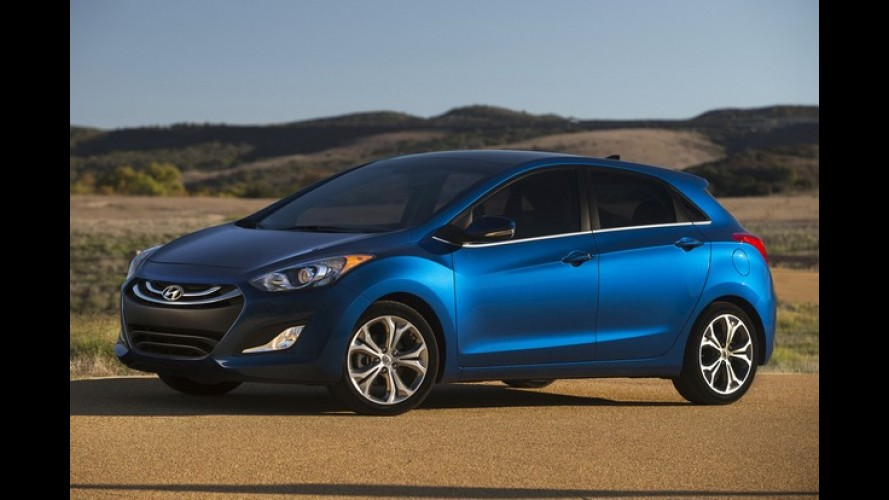 Hyundai Elantra GT (i30) vai aparecer com novo visual no Salão de Chicago