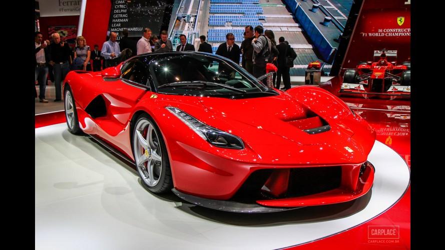 Ferrari limitará sua produção a 7 mil carros por ano