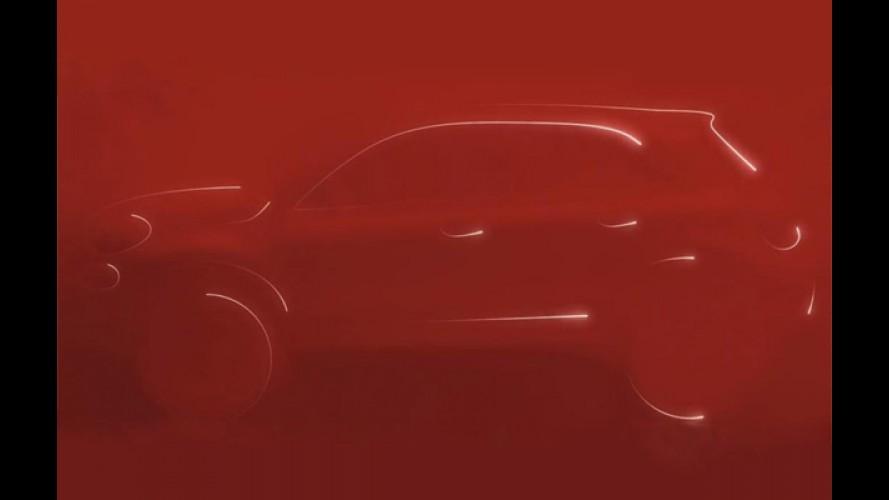 Salão de Paris: Fiat mostra teaser do crossover 500X