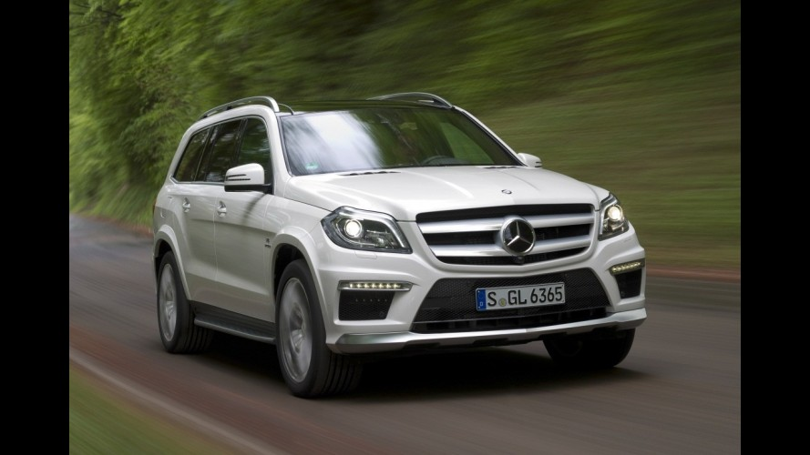 Mercedes-Benz revela oficialmente primeiros detalhes do novo GL63 AMG