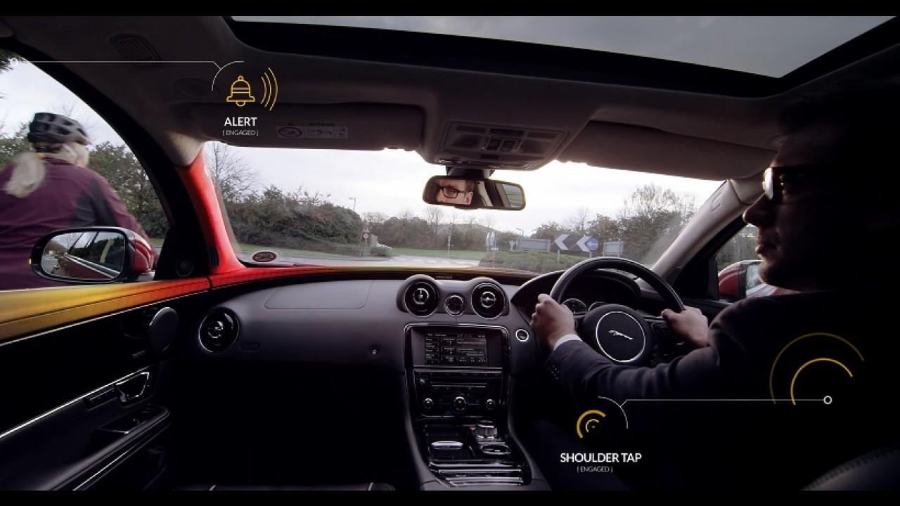 """Jaguar Land Rover desenvolve """"Sensor de Bicicleta"""" para evitar acidentes"""