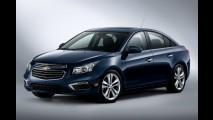 Chevrolet Cruze 2015 ganha visual atualizado nos Estados Unidos