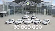 Skoda 20 millionth vehicle