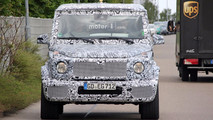 2019 Mercedes G-Class standard and AMG spy photos