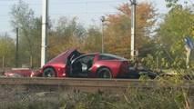 Raylara çıkan Chevy Corvette