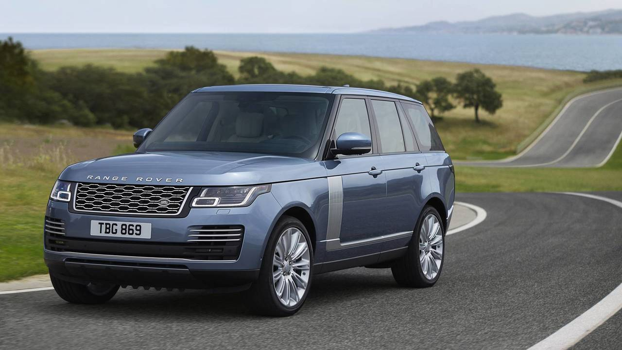 2018 Range Rover Front Static