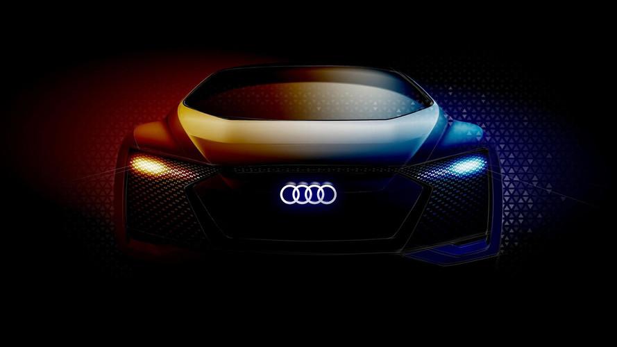 Otonom Audi konsepti de Frankfurt'ta boy gösterecek