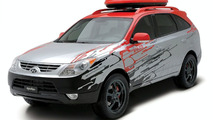 Hyundai Veracruz High-Tech Urban Escape Vehicle