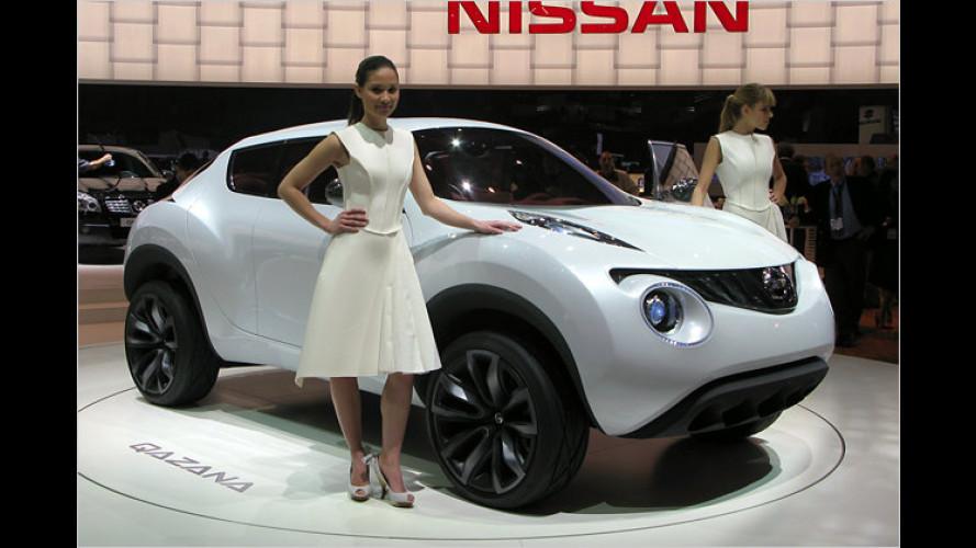 Nissan zeigt spacige Crossover-Studie Qazana