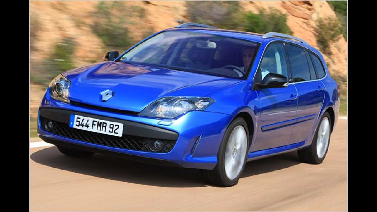 Renault-Kurvenkünstler