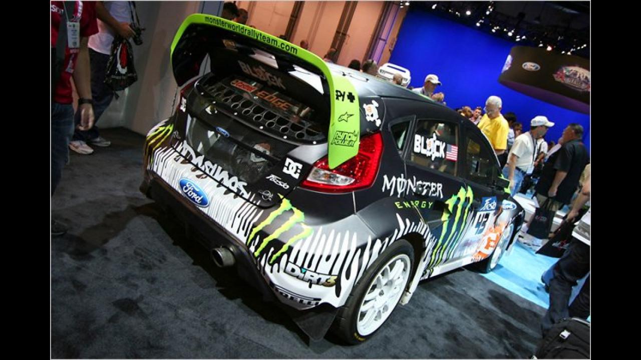 Ford Fiesta Gymkhana