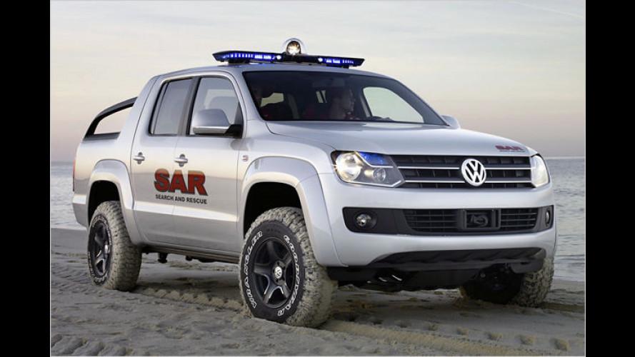 Pick-up-Showcar von Volkswagen feiert Weltpremiere