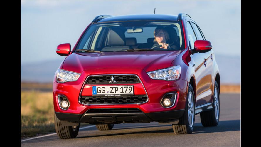 Mitsubishi ASX: Feinschliff fürs Kompakt-SUV