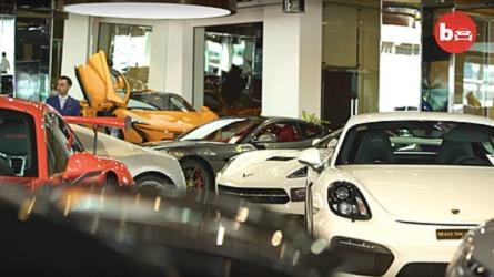 Dubai Dealer Has $45 Million Worth Of High-End Cars